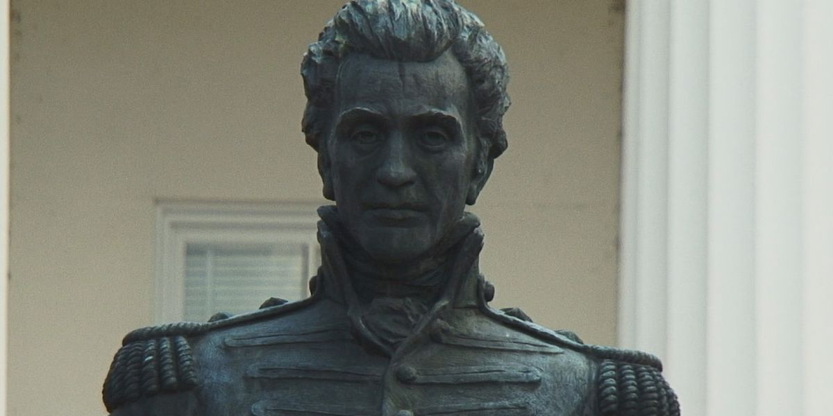 Jackson city council votes to relocate Andrew Jackson statue from City Hall