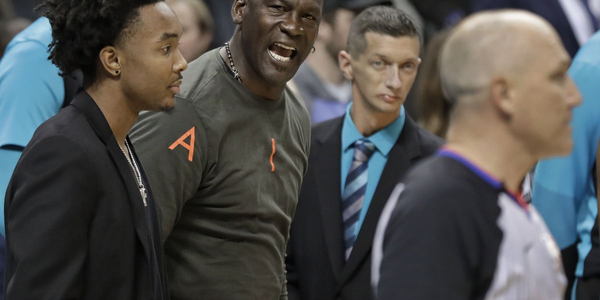 Jordan tells AP: Monk interaction was a 'tap of endearment'