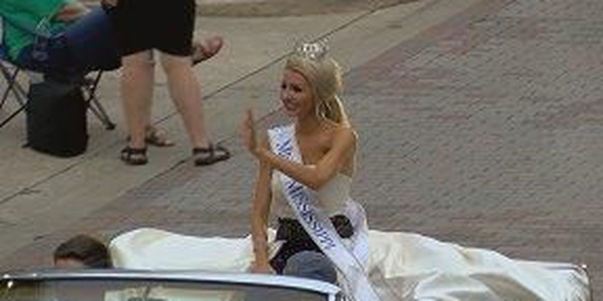 2018 Miss Mississippi Pageant kicks off with parade