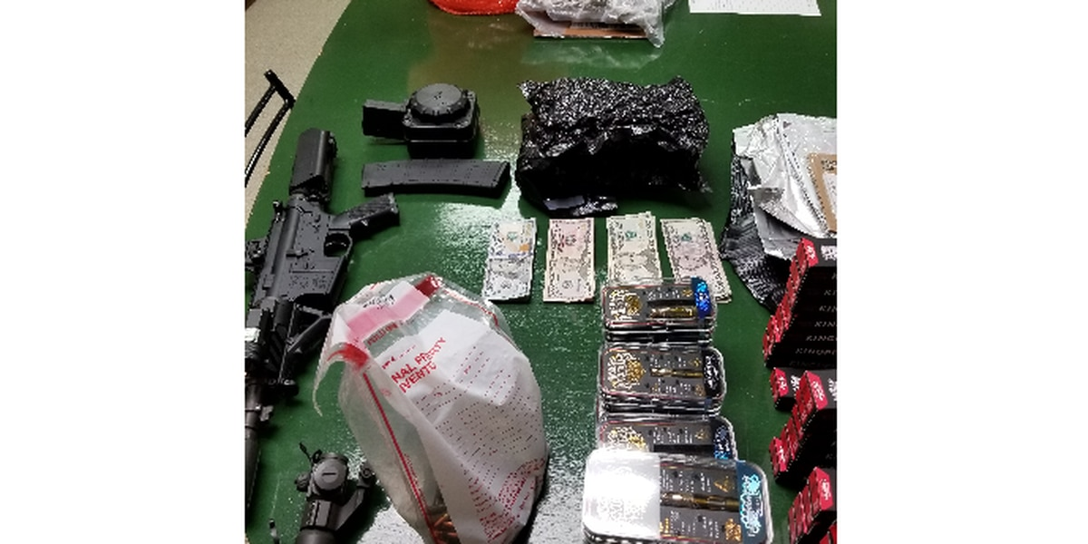 Hinds County drug busts net dope, money, and a gun