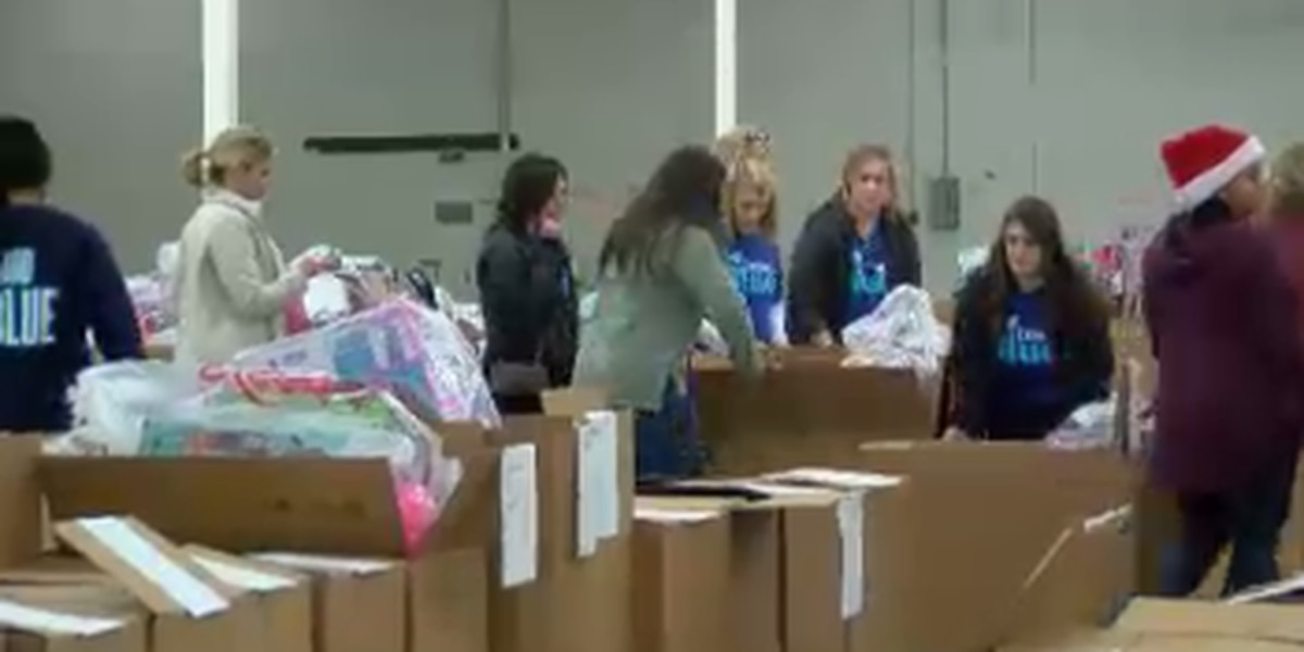 Salvation Army's Angel Tree begins Christmas distribution