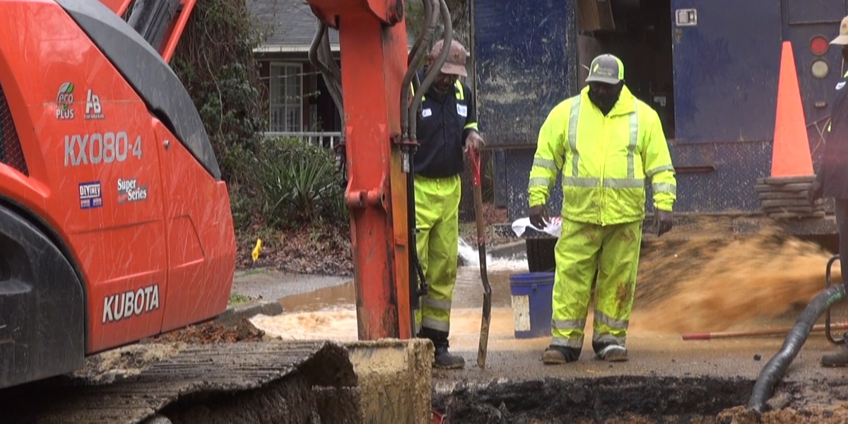 Residents still affected by water outages as crews continue work