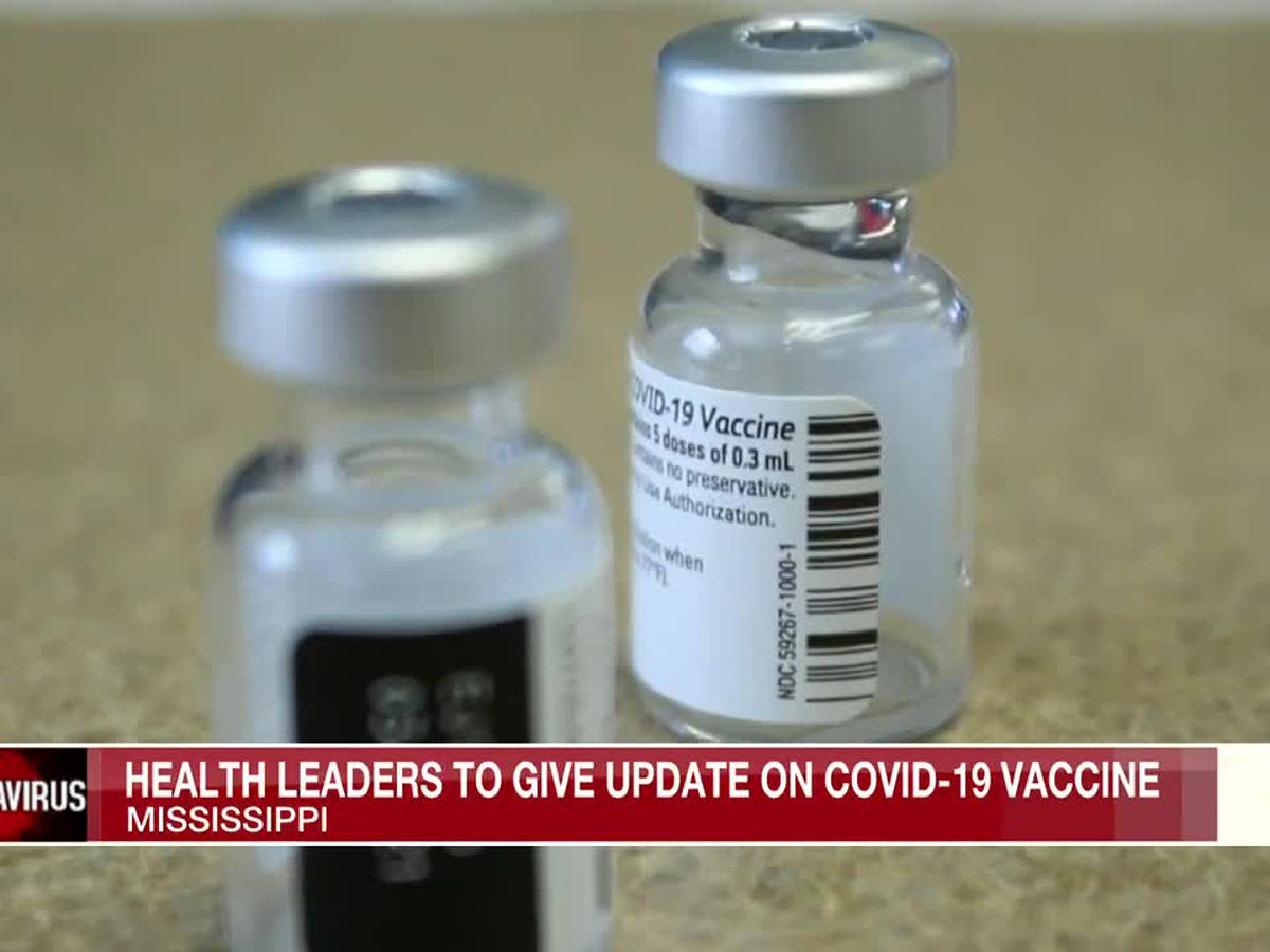 MSDH to give update on vaccine availability, drive-thru locations Thurs.