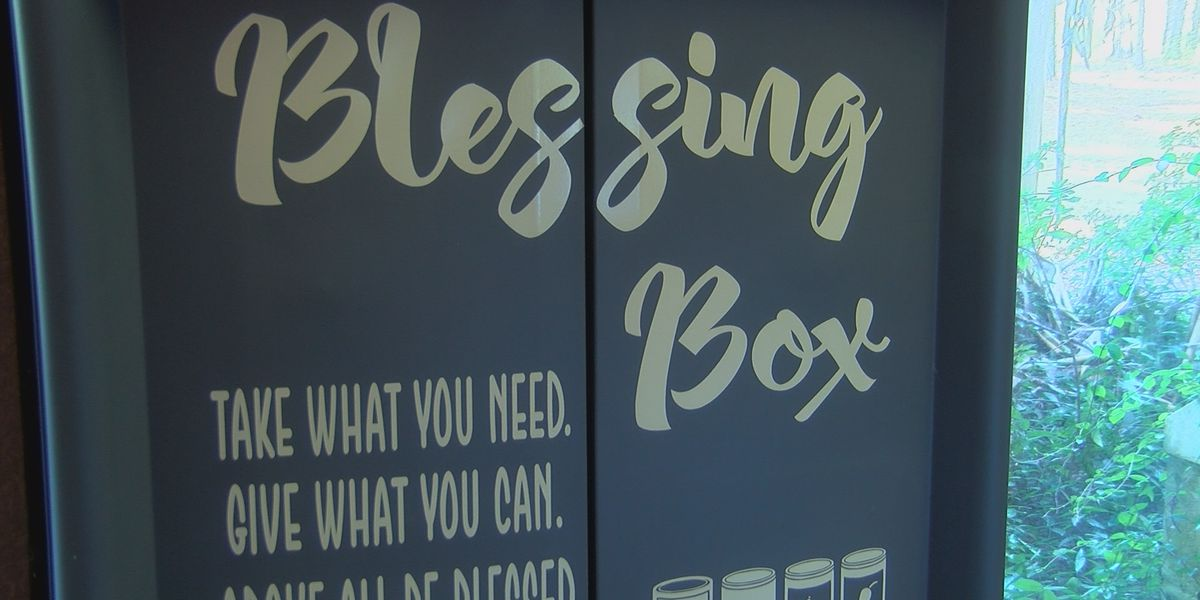 Madison Blessing Box providing for the needy