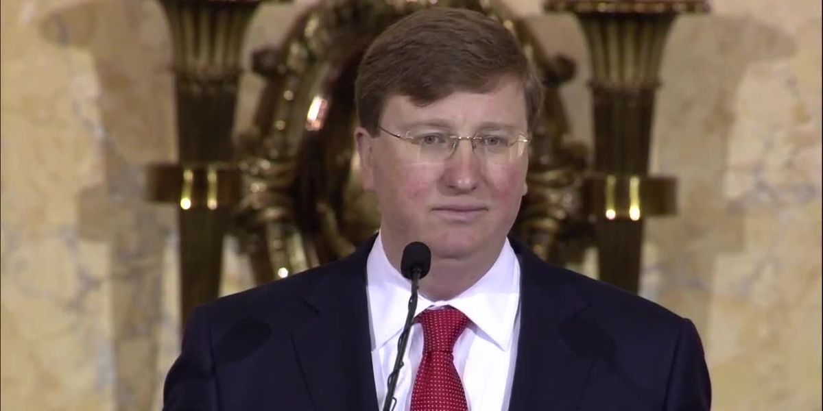 Gov. Tate Reeves delivers his first State of the State address