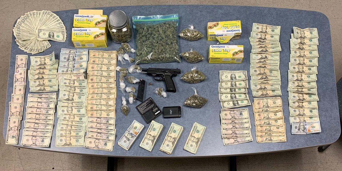 Drugs, gun, cash seized as JPD executes search warrant
