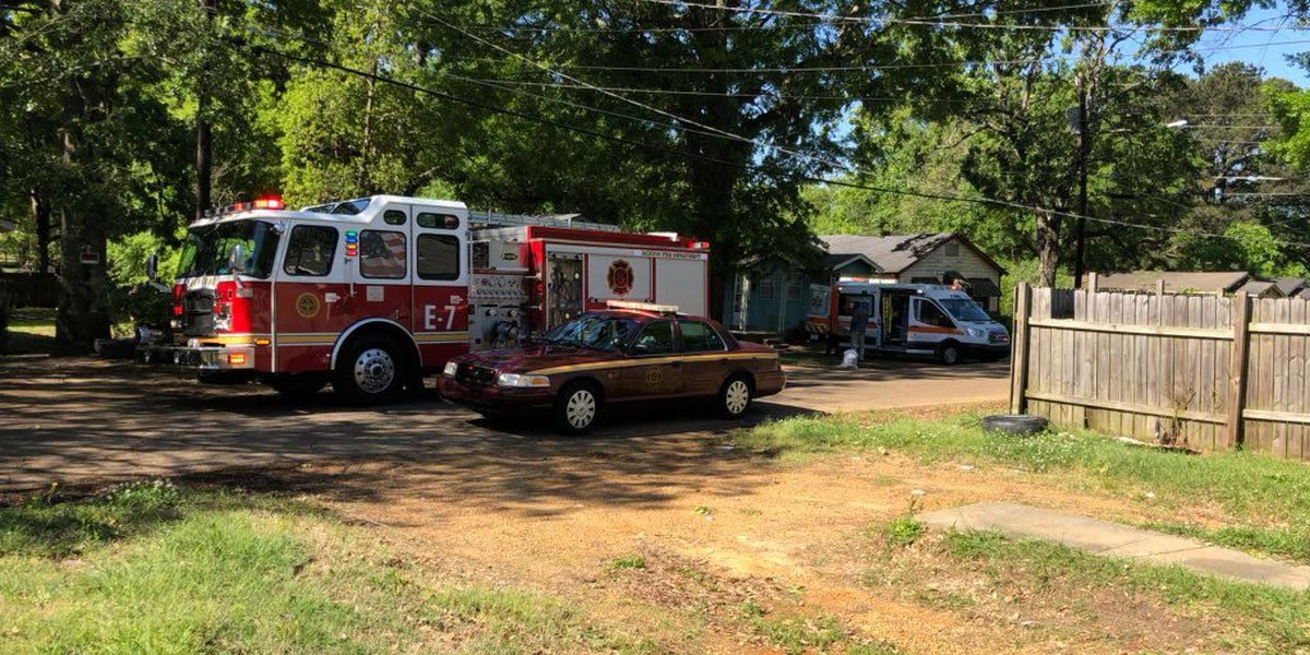 Firefighter among those injured in Jackson house fire