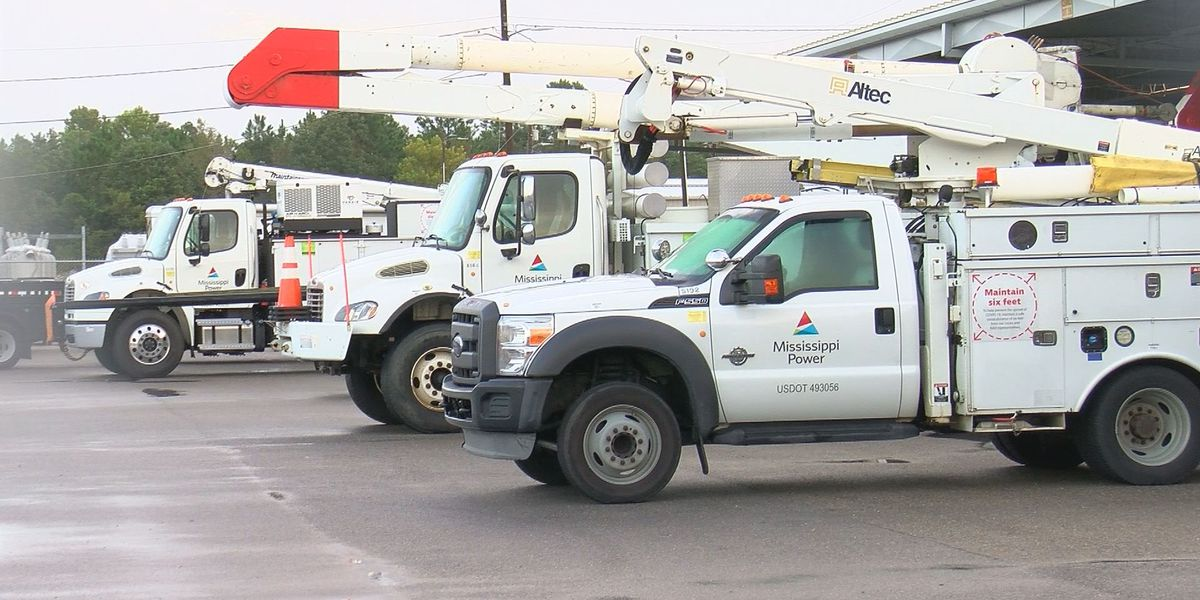 Mississippi Power expects 95 percent of power restored by Monday night