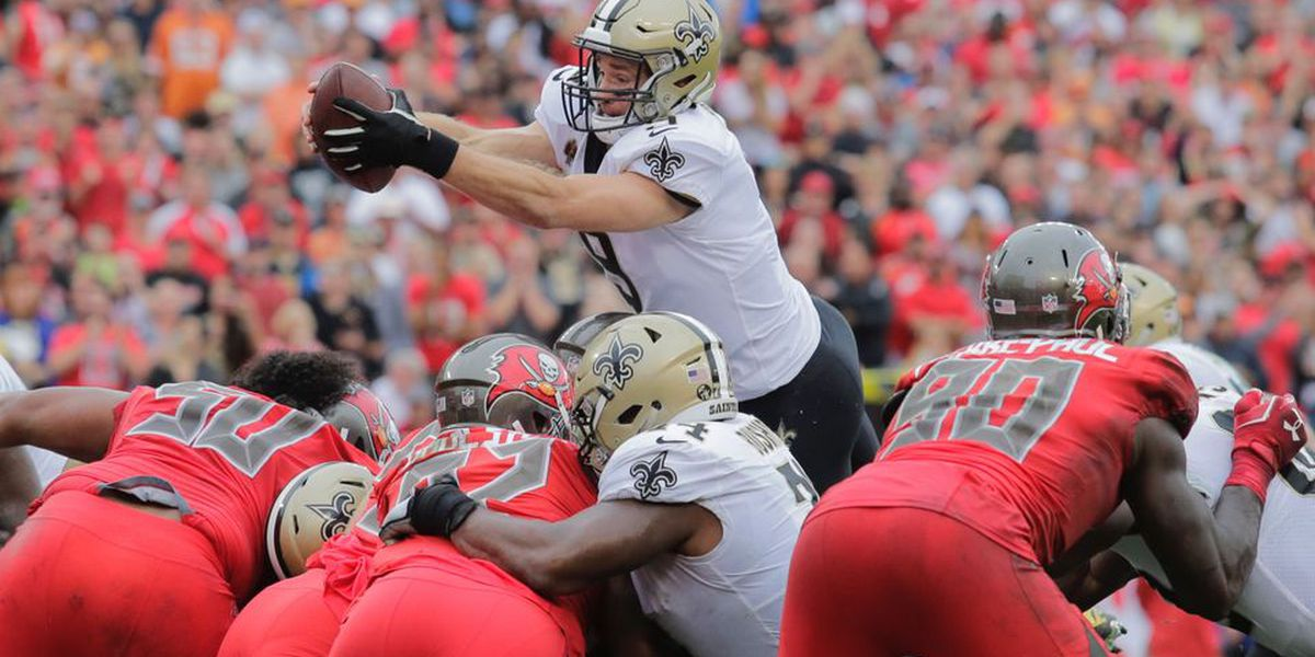 Brees: 'Goal No.1 was to win the division'