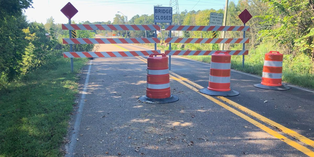 Erosion issue closes Terry Road bridge