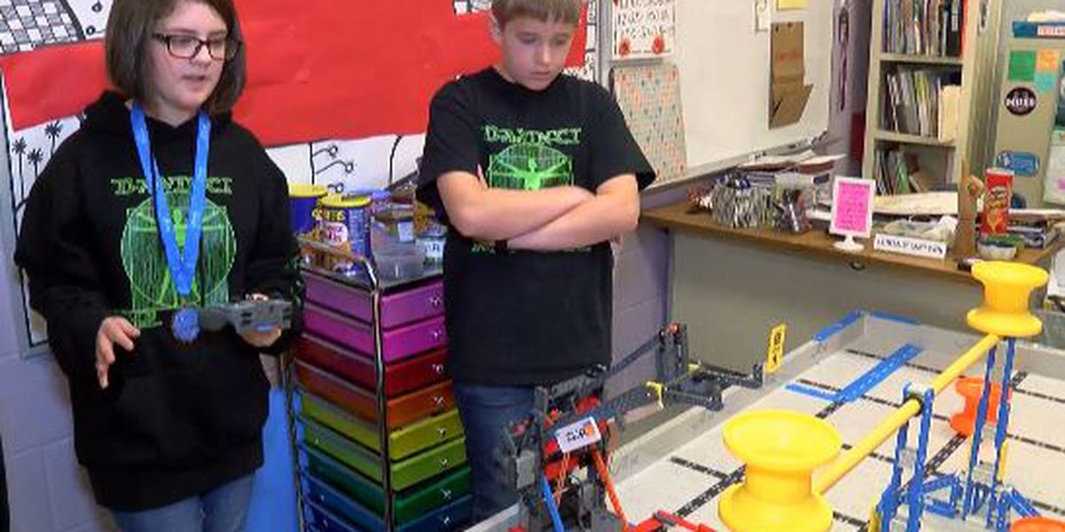 Young robotics students from Madison County win big at world championship