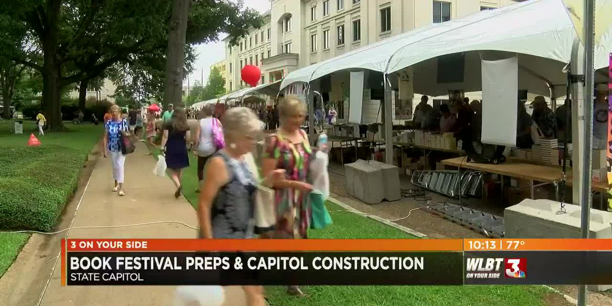 Capitol Street construction won't impact MS Book Festival