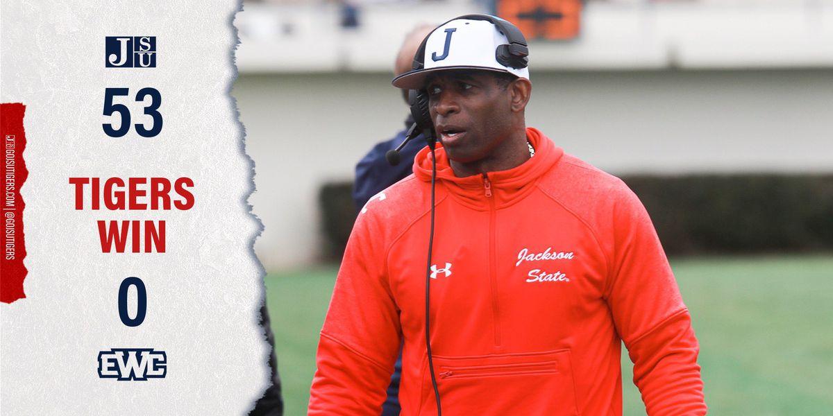 JSU begins season with blowout debut under Coach Prime