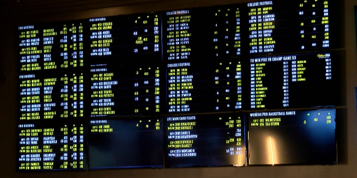 Sports betting nets $14.8 million for Mississippi casinos