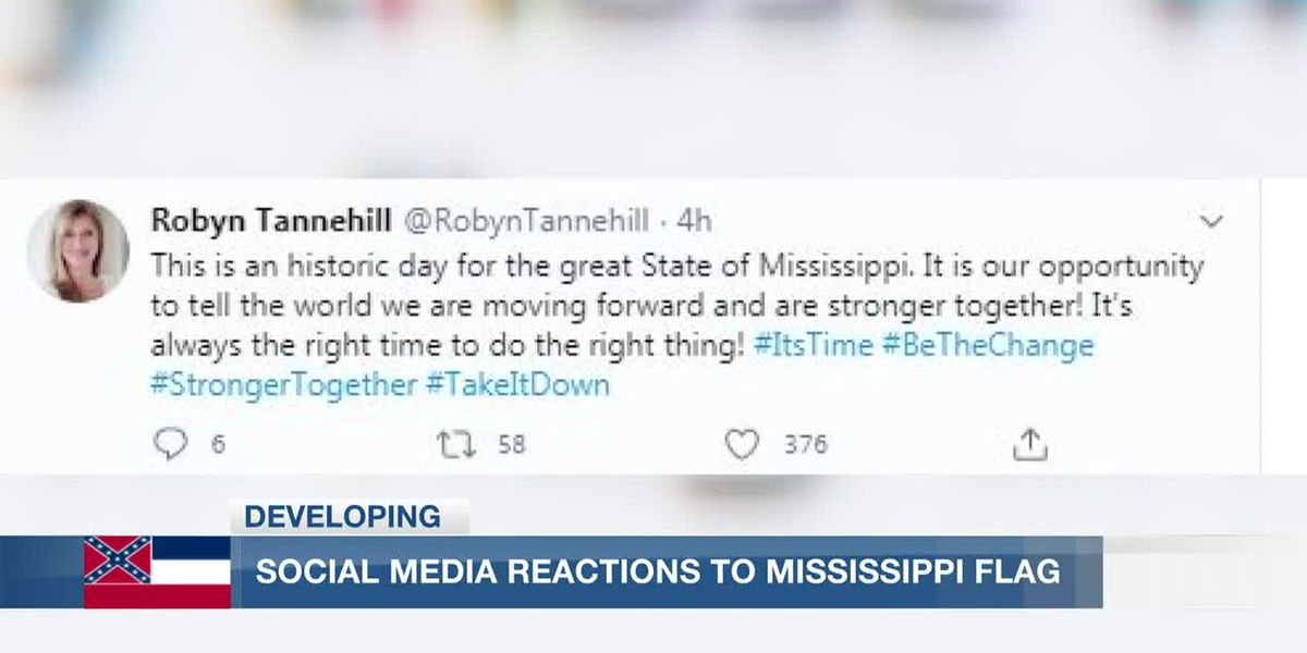 Miss. residents sound off on social media on state flag changes