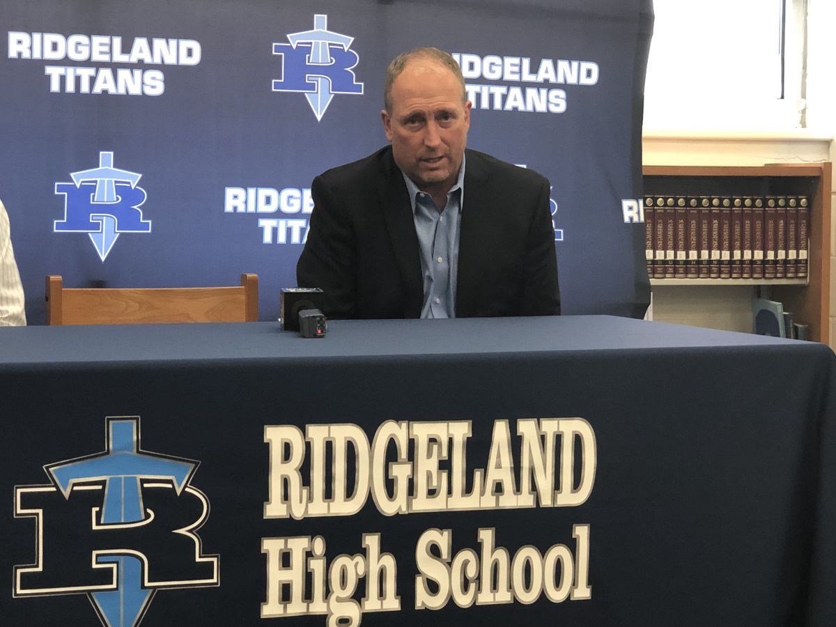 White introduced as new football coach & AD at Ridgeland