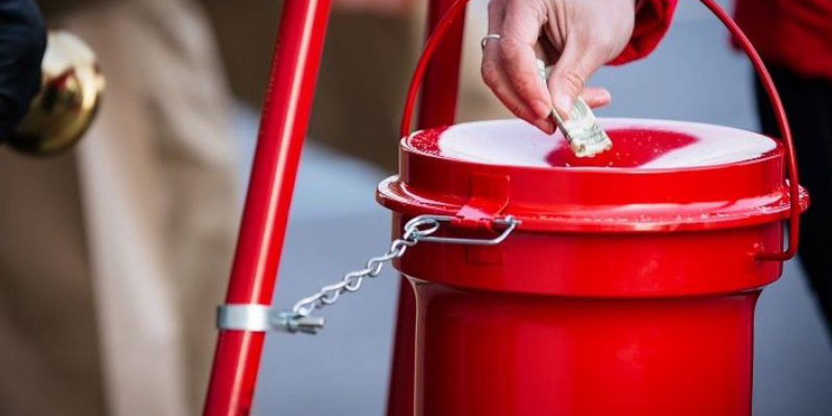 Salvation Army hopes you bring your cash to help them reach their holiday goal