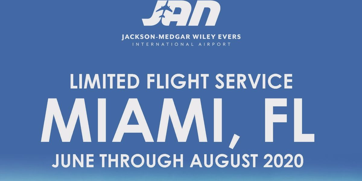 American Airlines offering limited nonstop flights from Jackson to Miami