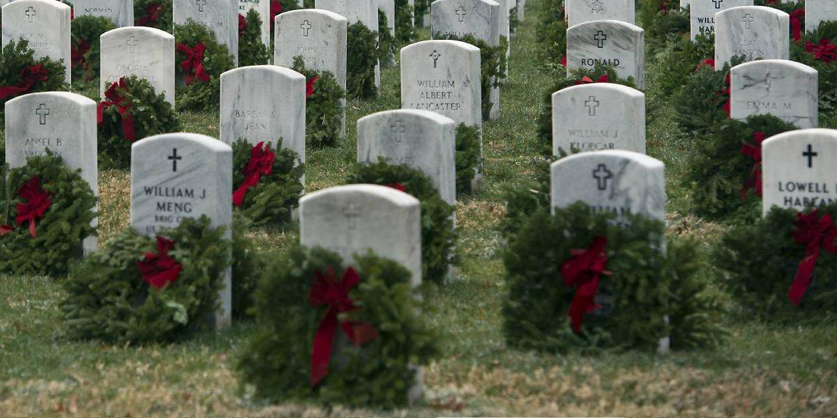 Wreaths Across America will lay wreaths at Arlington National Cemetery