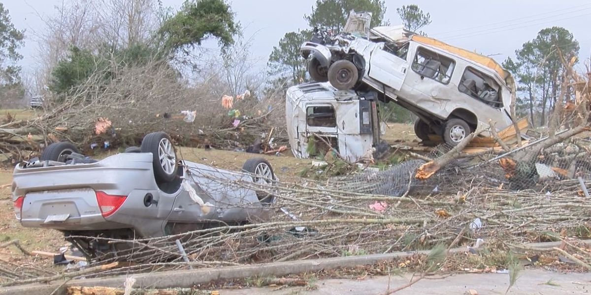 Mississippi sets state record for tornadoes in 2019