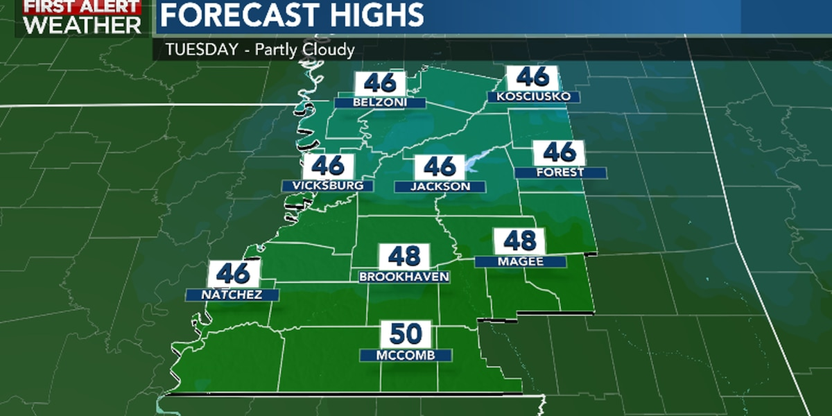 First Alert Forecast: Sunny, chilly day ahead