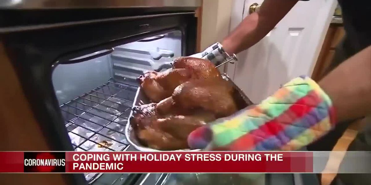 Coping with holiday stress during the pandemic