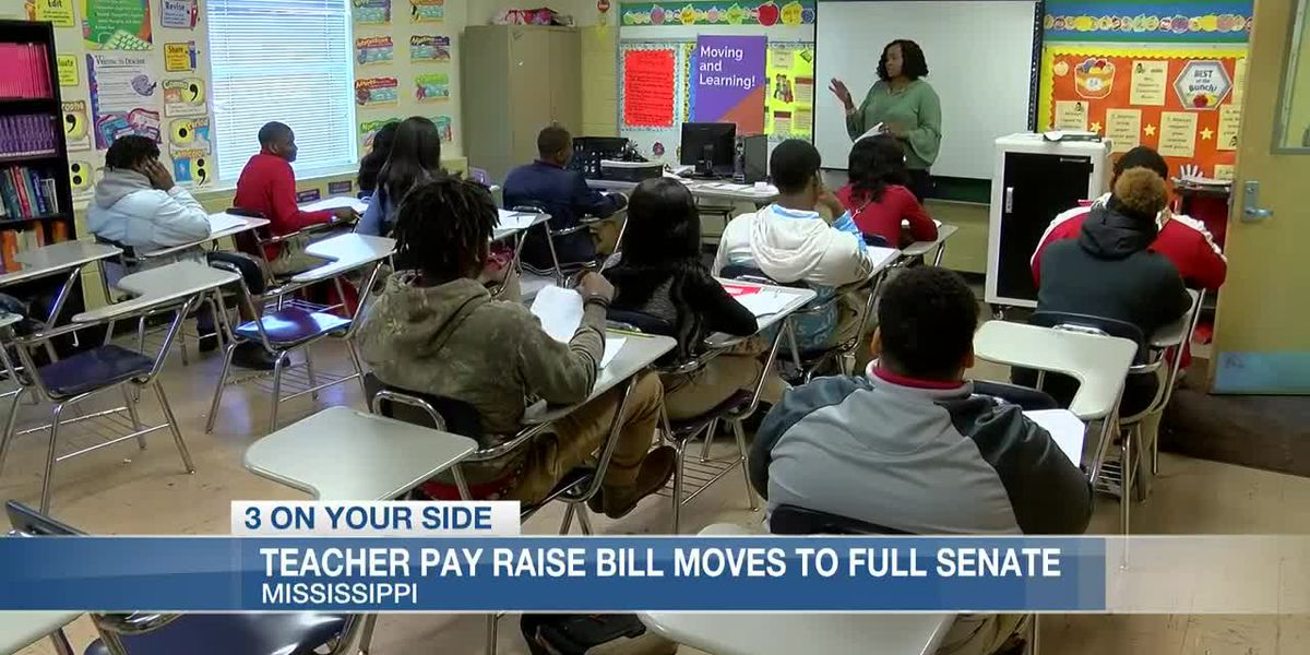 Teacher pay raise bill approved by Mississippi Senate