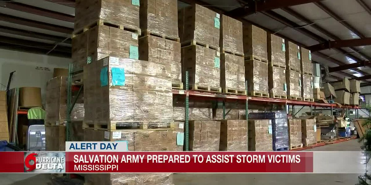 Salvation Army prepared to assist storm victims