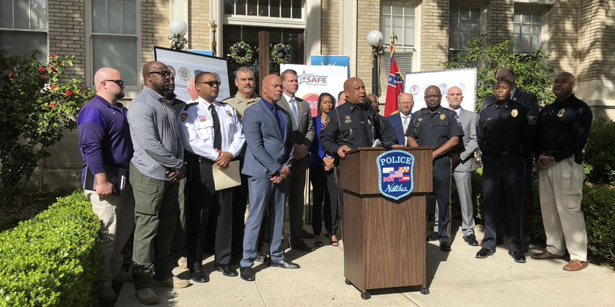 Crime in the City of Natchez significantly lower due to Project EJECT
