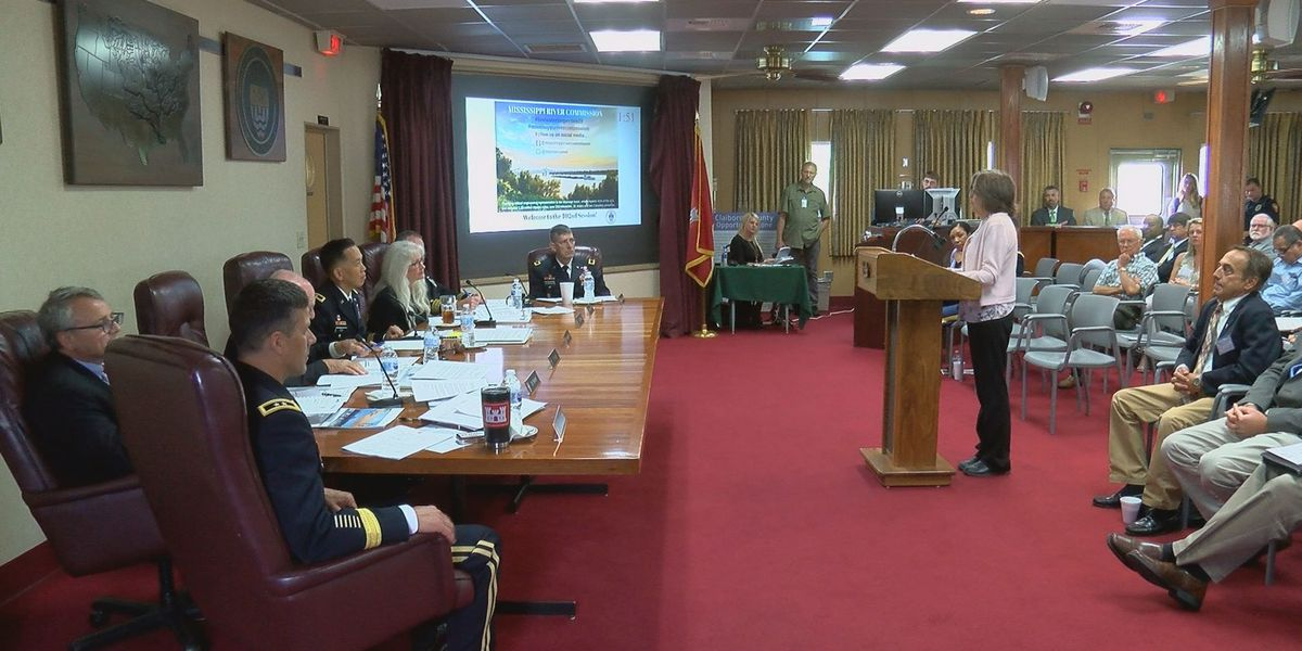 Mississippi River Commission makes stop in River City to hear flooding concerns