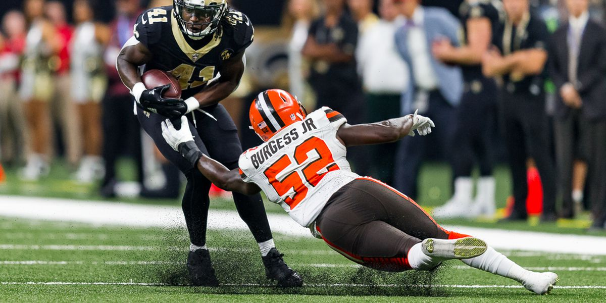 Saints get their first win of the season against the Browns