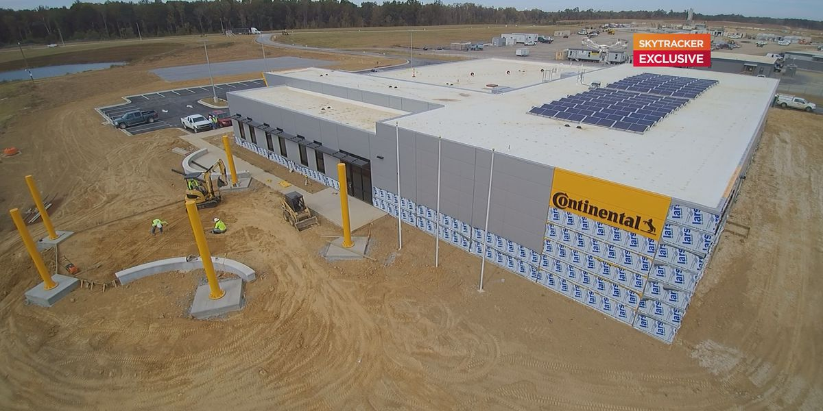 Continental plant construction half-way complete