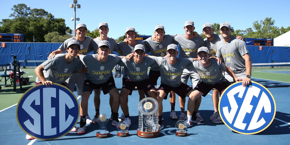 MSU men's tennis claims second-straight SEC Tournament crown