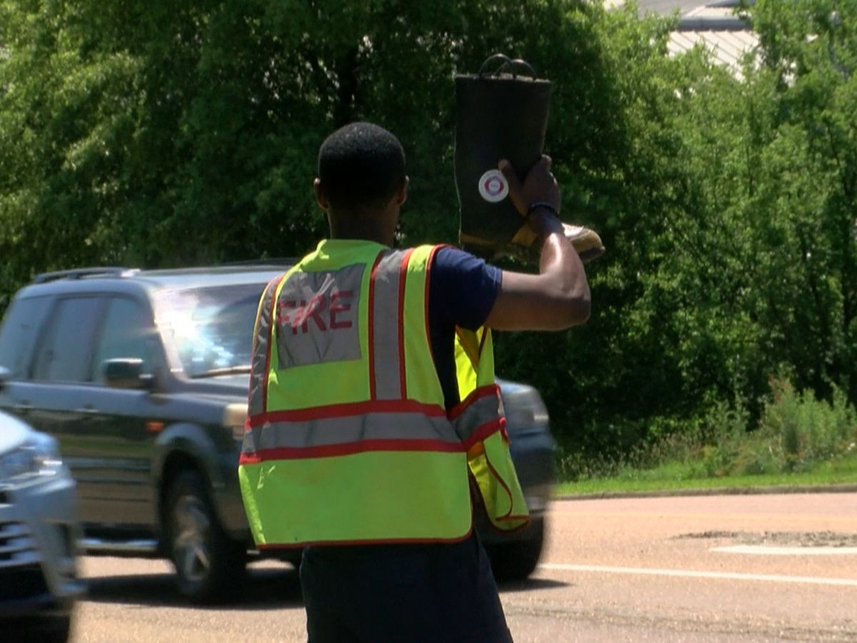 "Jackson Fire takes to the streets to ask you to ""Fill the Boot"""