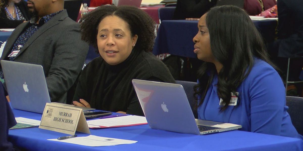 JPS job fair looking to keep schools on the right track