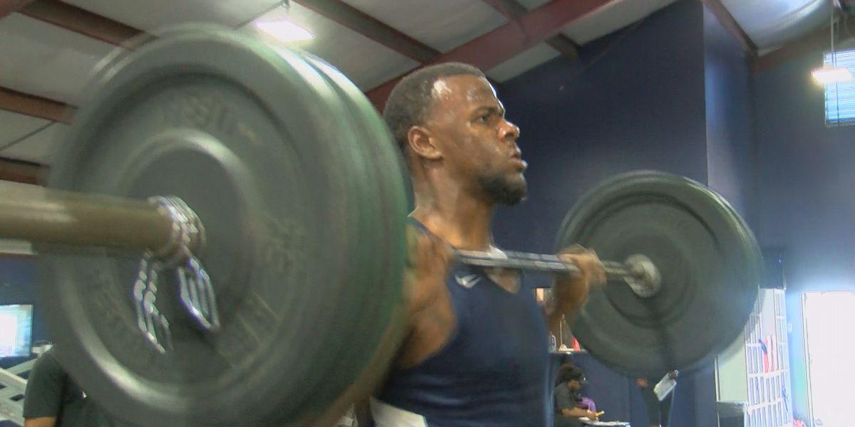 Jackson State defensive end Kahlil Johnson prepping for big season