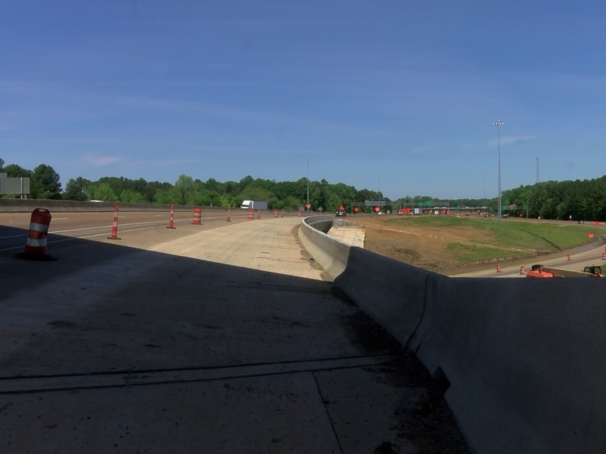 I-55 project in Ridgeland near completion