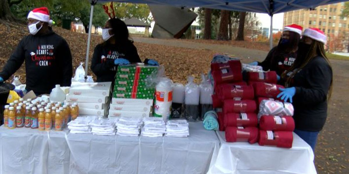Volunteers warm the hearts of the less fortunate in Jackson