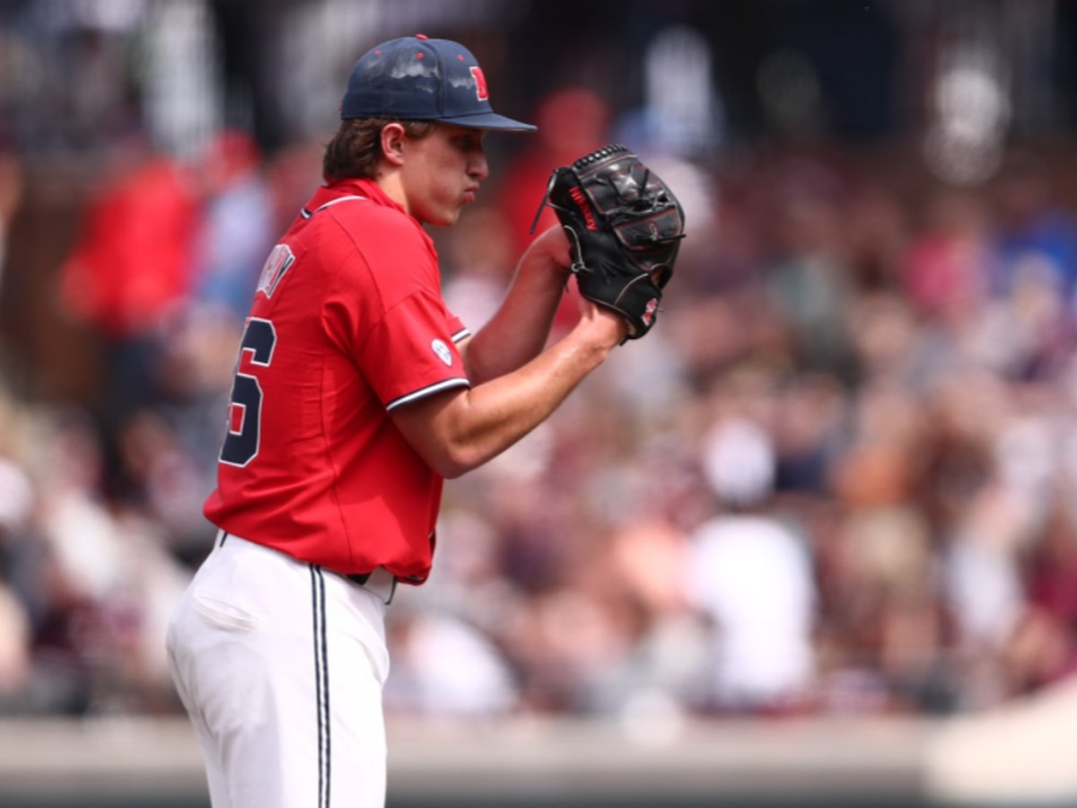 Nikhazy tosses shutout as Rebels even series with MSU