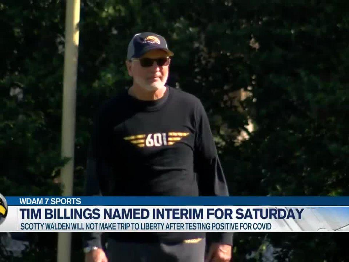 Tim Billings handed keys to Southern Miss vessel