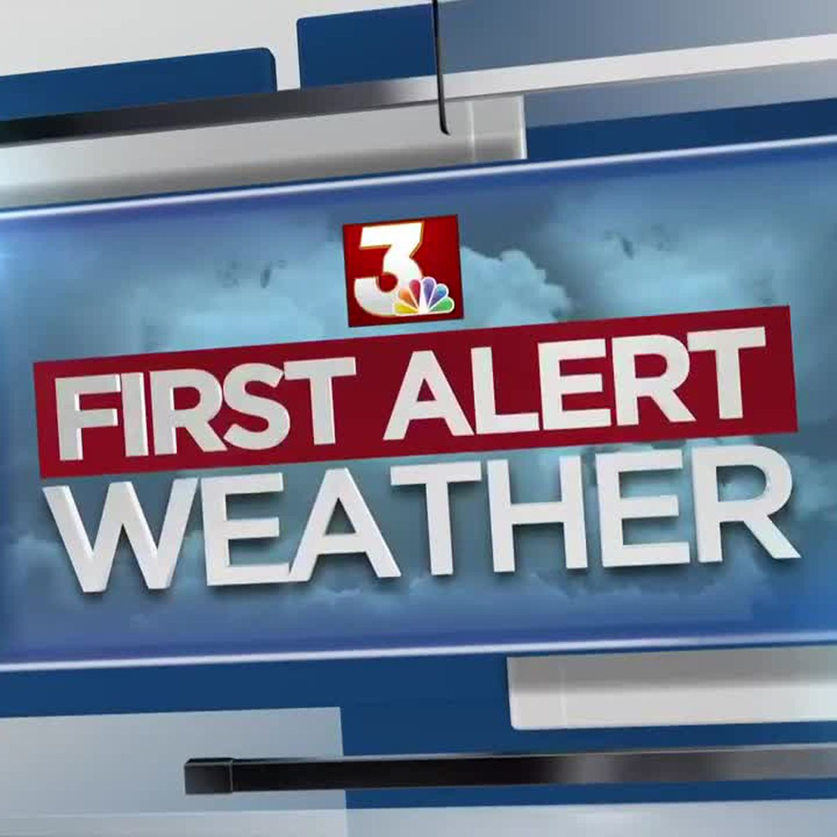 First Alert Forecast: Clouds Increasing; Rain, Storms Monday