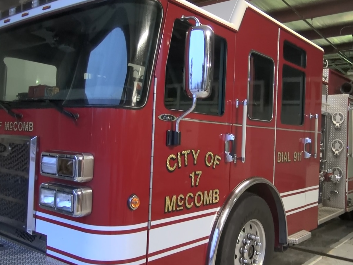 McComb needs a fire truck, and they're not the only ones