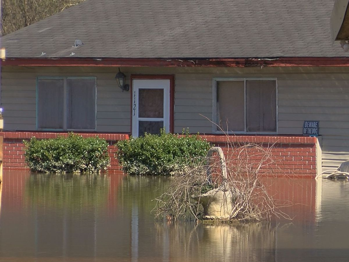 Copiah County facing flooding problems downstream