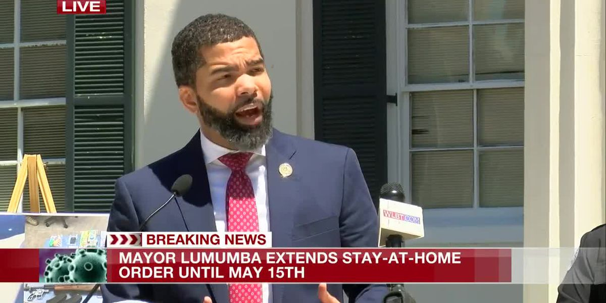 Mayor Lumumba extends city's stay-at-home order; defends suspension of open carry
