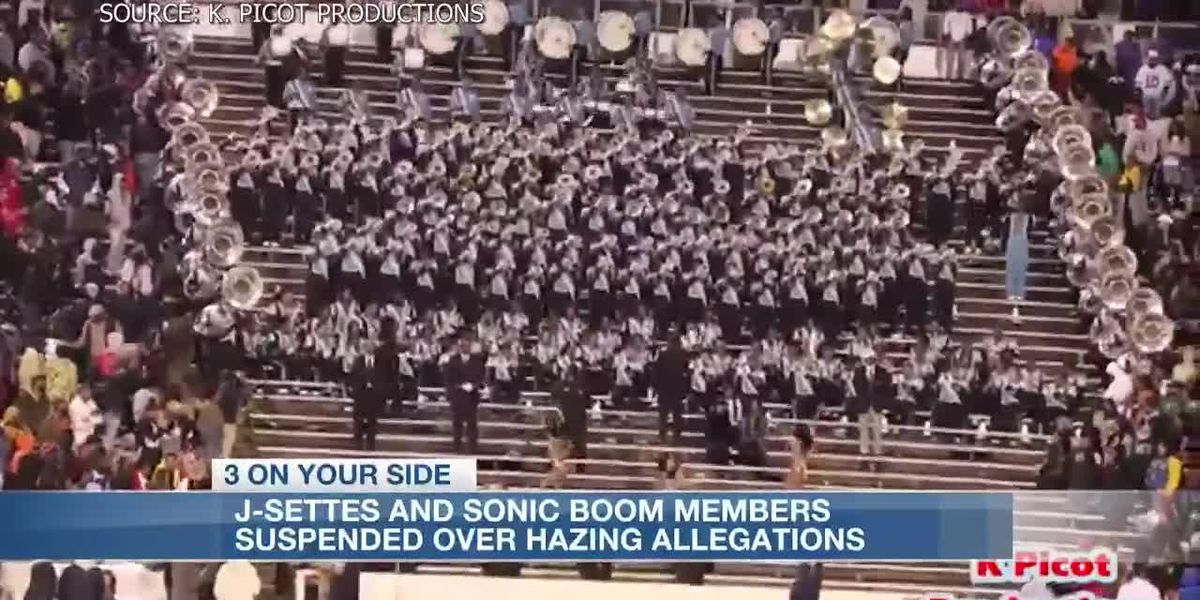 Several J-Settes and Sonic Boom members suspended after hazing allegations