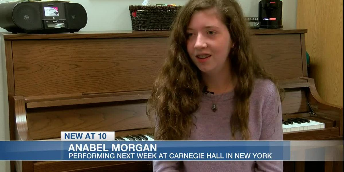 Teen pianist on her way to New York