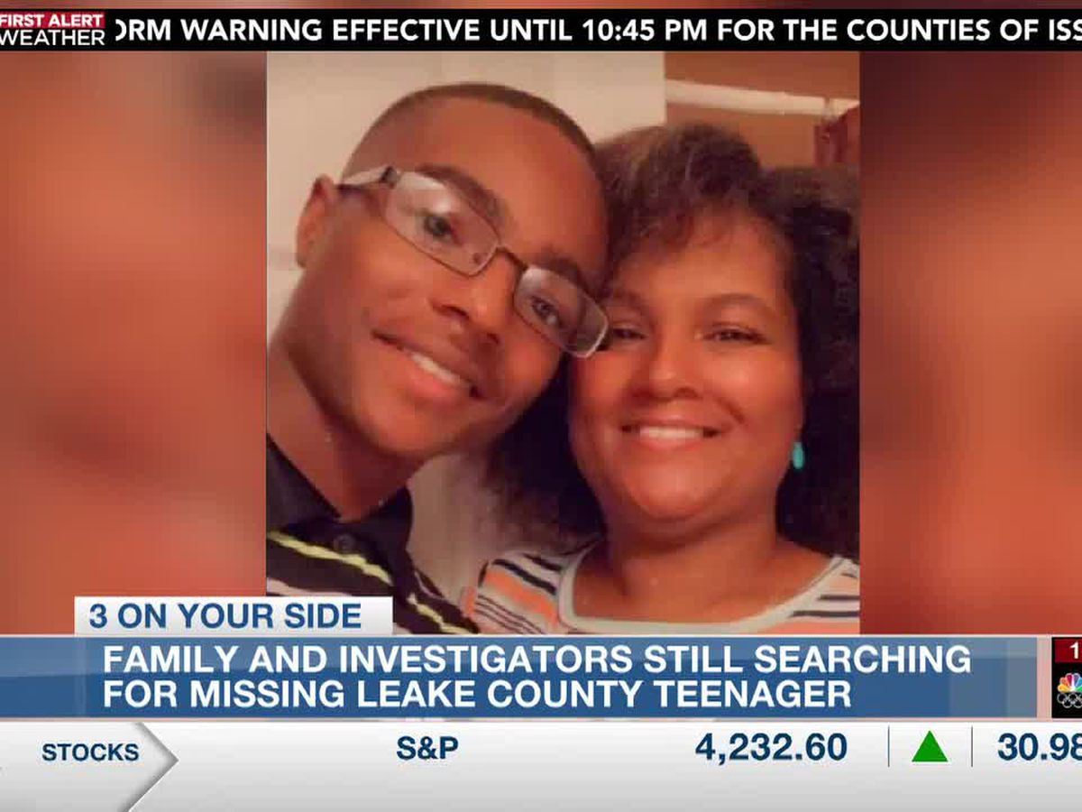 Family and investigators still searching for missing Leake County teenager