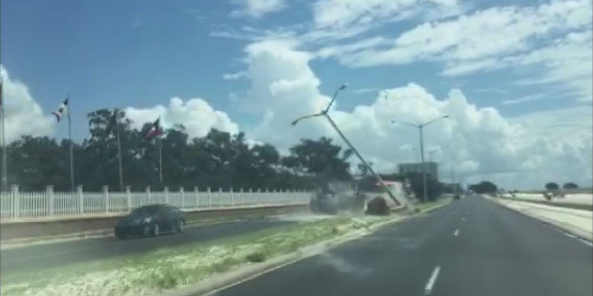 WATCH: Journalist recounts dramatic crash caught on camera