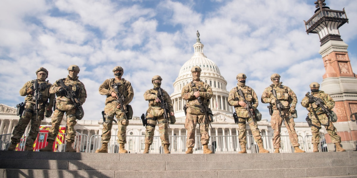 114TH MP Company deploys to Washington, D.C. to provide security during Biden's inauguration