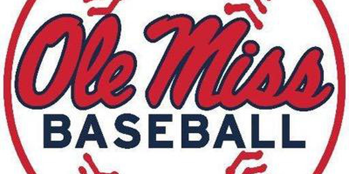 Three earn All-SEC honors for Ole Miss baseball
